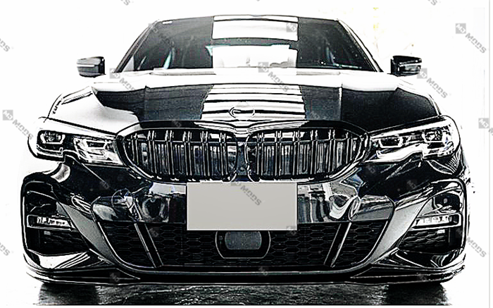 ABS Glossy Black Front Grille fit for BMW G20 G21 M340i 330i/e 320i/d【Twin】 (4902516195402)