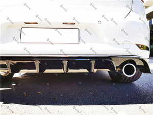 ABS Glossy Black Rear Diffuser For VOLKSWAGEN【Golf 7.5 GTI】2012+ (6574221918282)