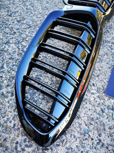 ABS Glossy Black Front Grille fit for BMW【G20/G21 M340 330/320】【twin】18+ (4902516195402)