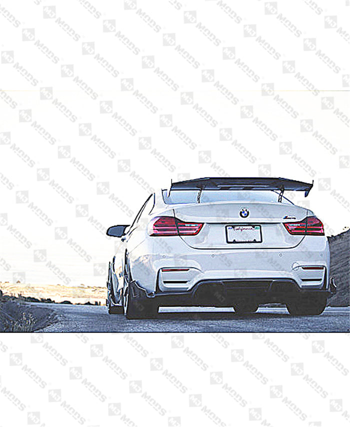 【Universal】【MAD】JDM Carbon Fibre Rear Boot Trunk GT Racing Wing Spoiler M2 M3 M4 (4834666250314)