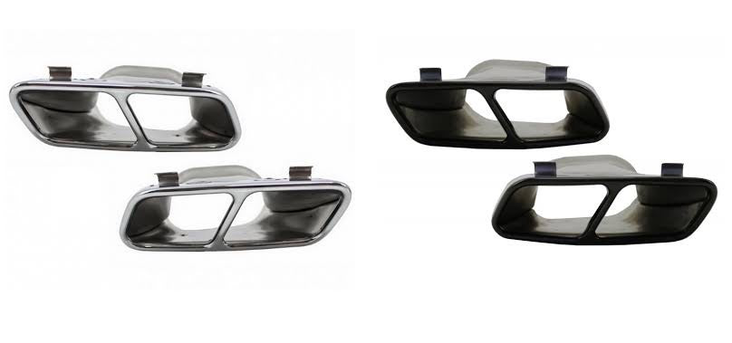 W117 W176 CLA A Class 45AMG Style Exhaust Tips (6539569332298)