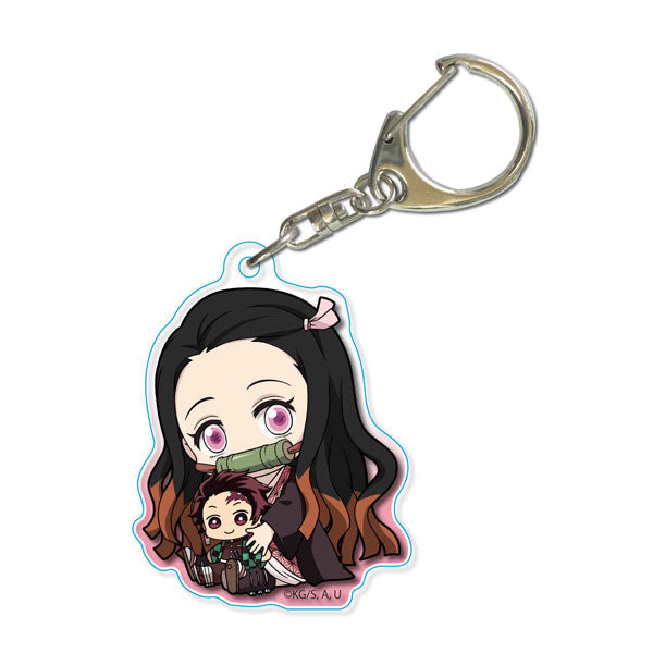 Demon Slayer GyuGyutto Acrylic Key Chain Kamado Nezuko