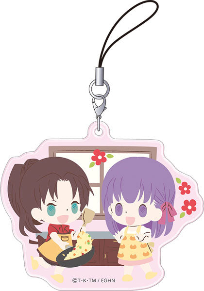 Today's Menu for Emiya Family Funifuni Strap Collection