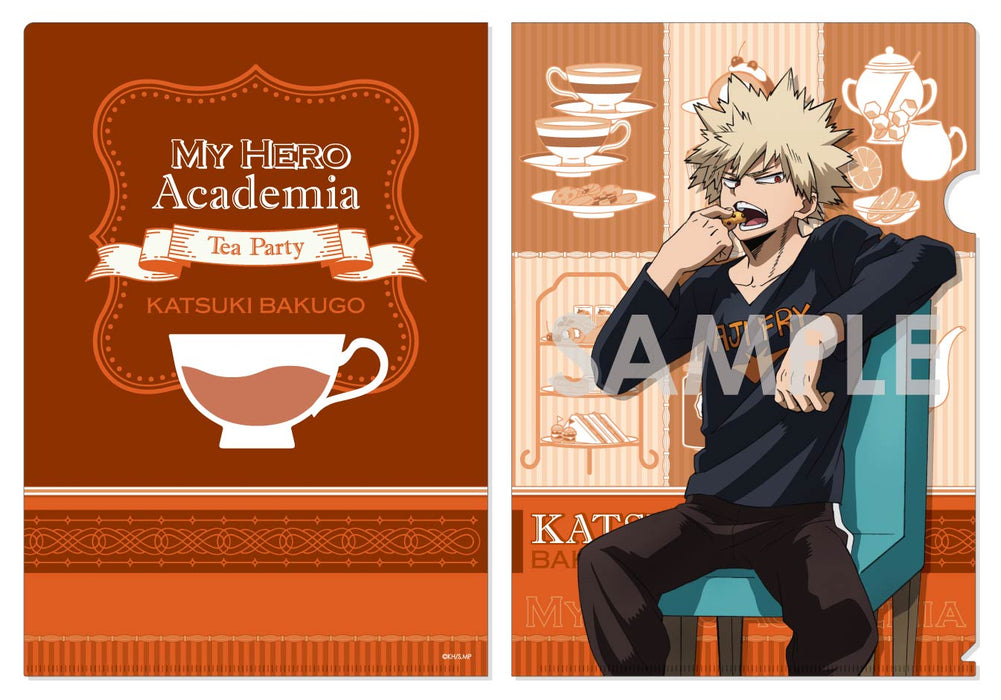 [Preorder] My Hero Academia Clear File -Tea Party- B Bakugo Katsuki