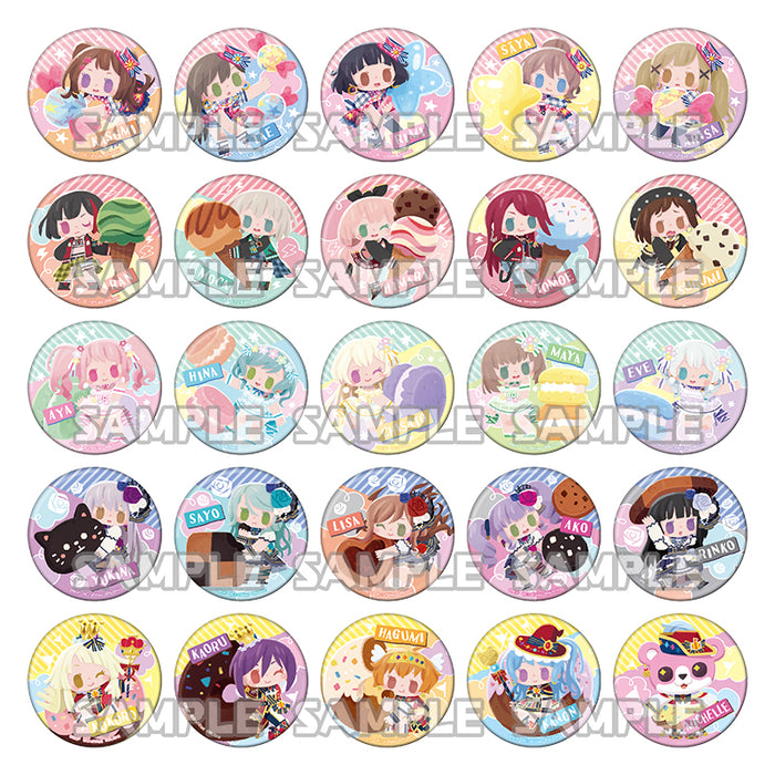 BanG Dream! Girls Band Party! Trading Tin Badge Sweet Party ver