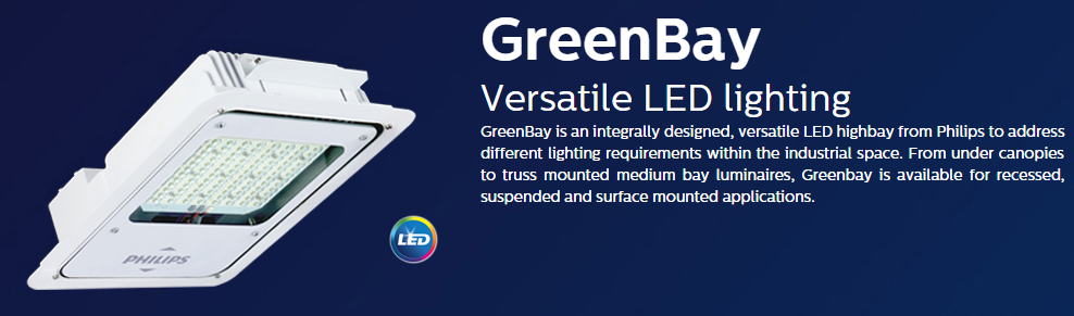 Philips GreenBay Versatile LED Lighting