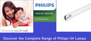 Discover the Complete Range of Philips UV Lamps