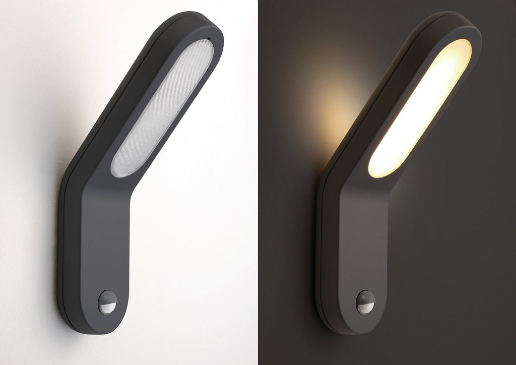 Philips ecomoods outdoor wall light with motion sensor