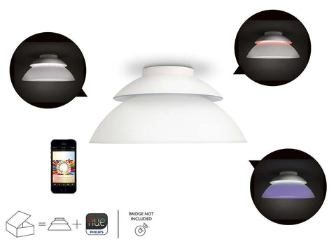 Philips Hue Extension LED Ceiling Light Without Bridge