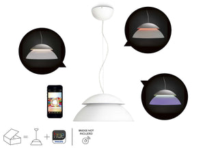 Philips Hue Extn. LED Suspension Light Without Bridge