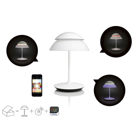 Philips Hue LED Table Lamp Starter + Bridge