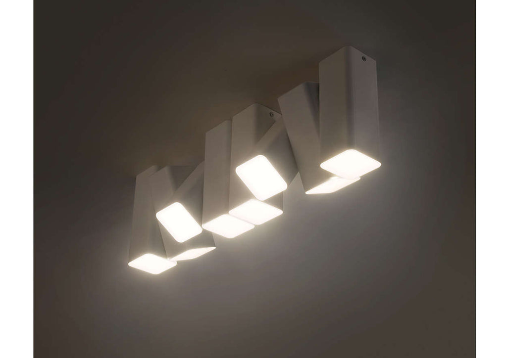 ... Philips Blossoms LED Ceiling Light: Twistable 225° Axis