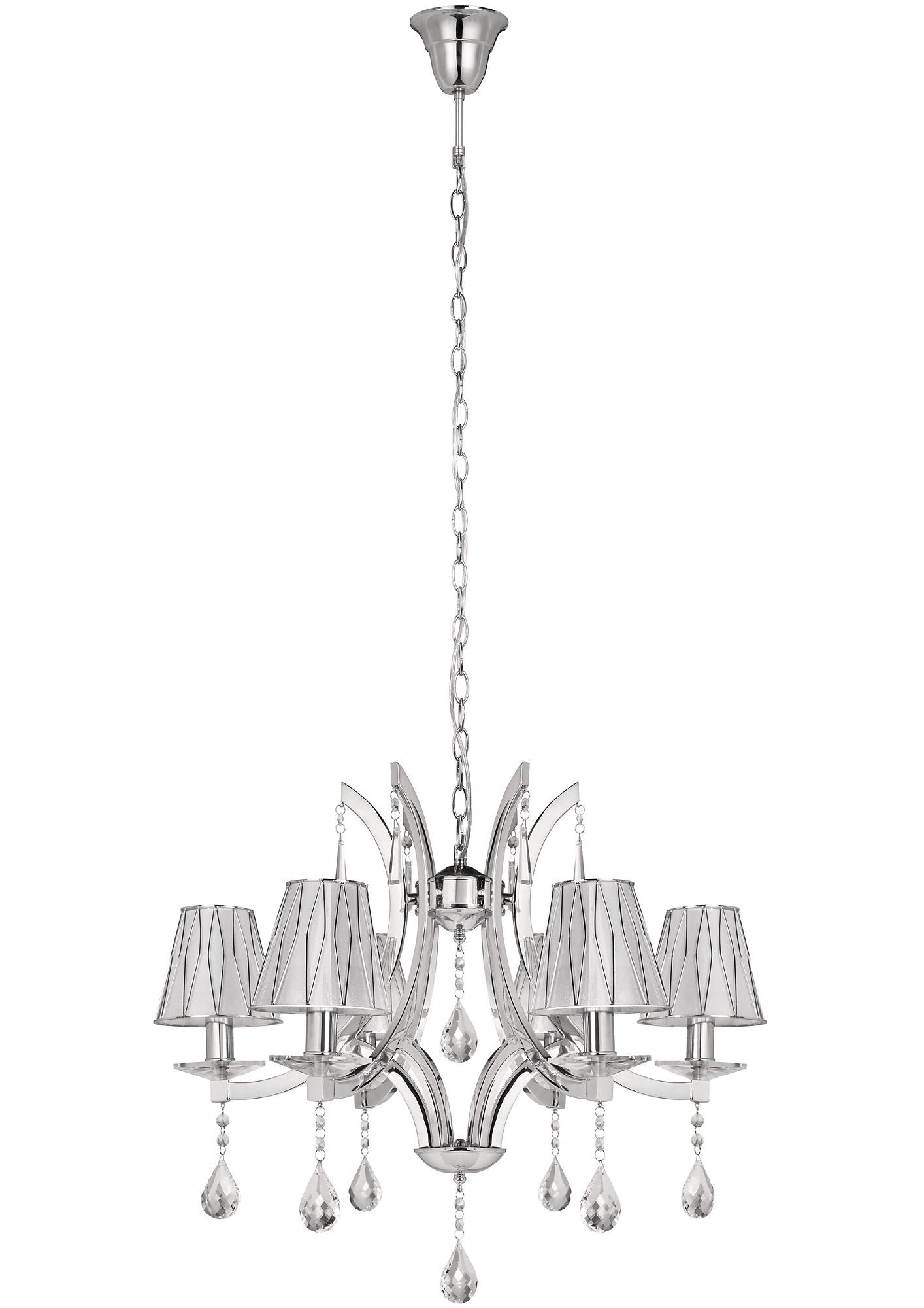 Philips myLiving Crystal Chandelier Suspension Light/Adjustable Height