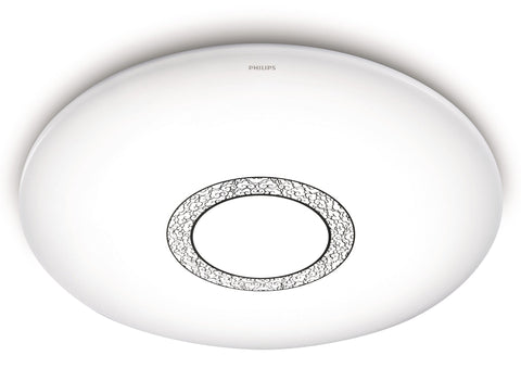 Philips LED Ceiling Light 80W Dimmable, Select Color, Night Light Mode