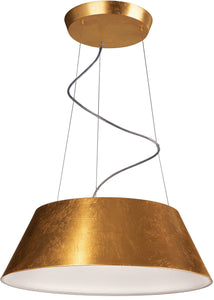 Philips Ledino LED Cielo Lustrous Gold Suspension Light