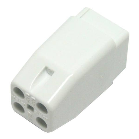 4 Pin SE HQ - 1 REG UV Lamp Holder / Connector (Made in USA) (Qty. 10)