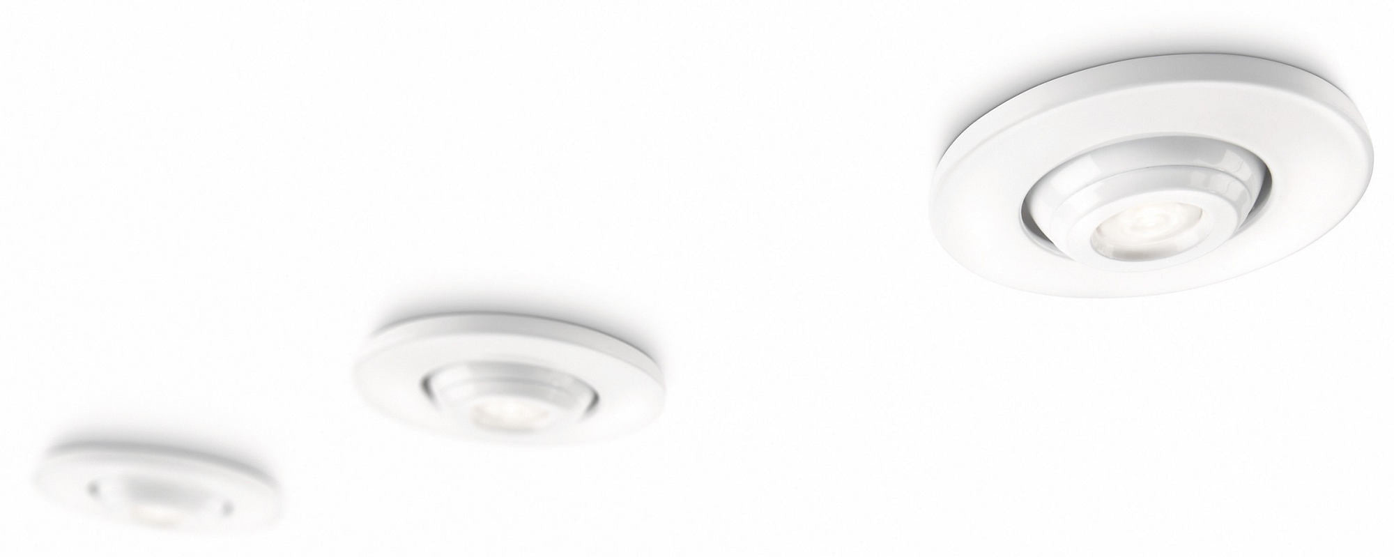 Philips SmartSpot LED Downlight (Set of 3, IP23 Protection)