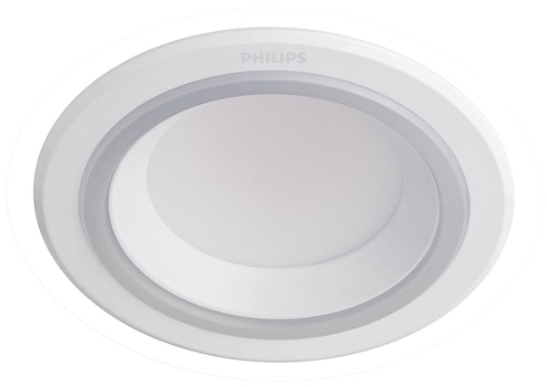 Philips Value LED Downlight with Night Light Mode 8W, 2700K Warm White