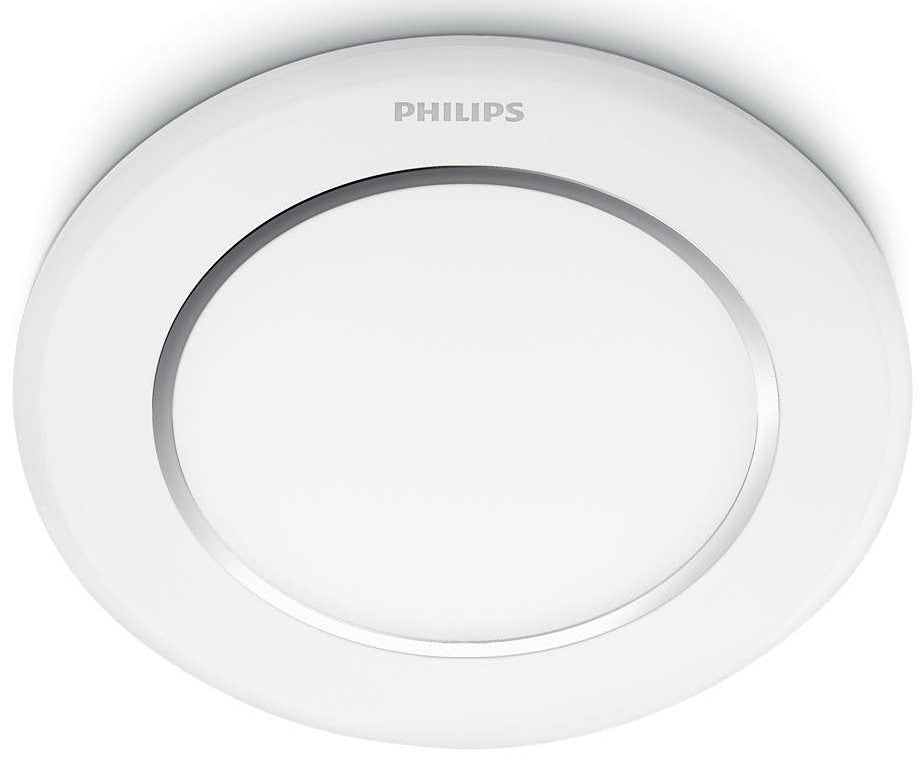Philips LED Downlight/Recessed Spot Light 2700K 6W 3""