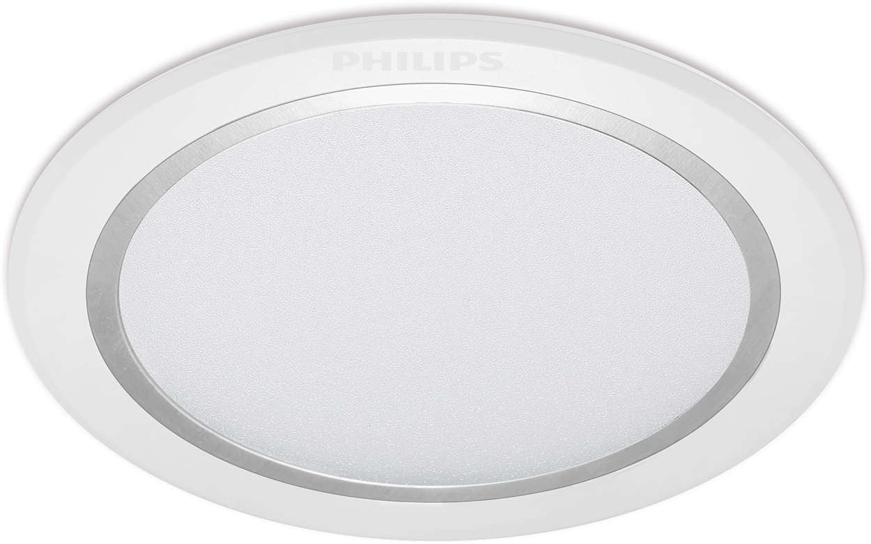 Philips LED Downlight/Recessed Spot Light 6500K 6W 3""