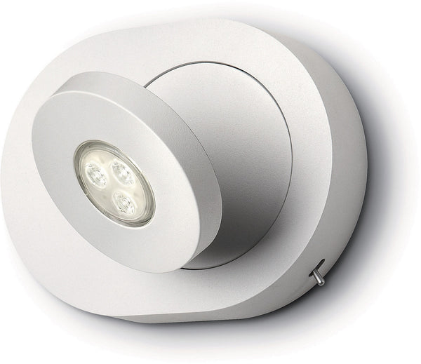 Philips Ledino LED Wall & Spot Light (Flexible/Dimmable/OnBase Switch)