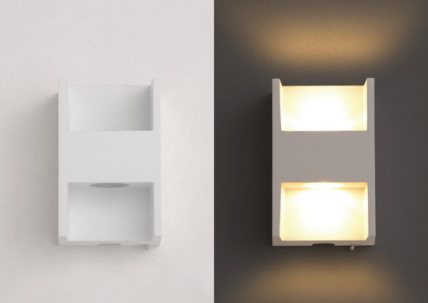 Philips Ledino LED Wall Light (On-Base Switch)