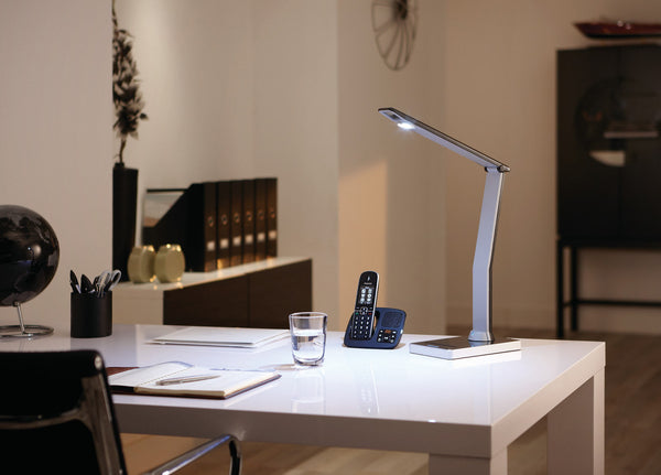 Philips iCare LED Desk / Study / Table Lamp (USB Ports/5 Light Phases)