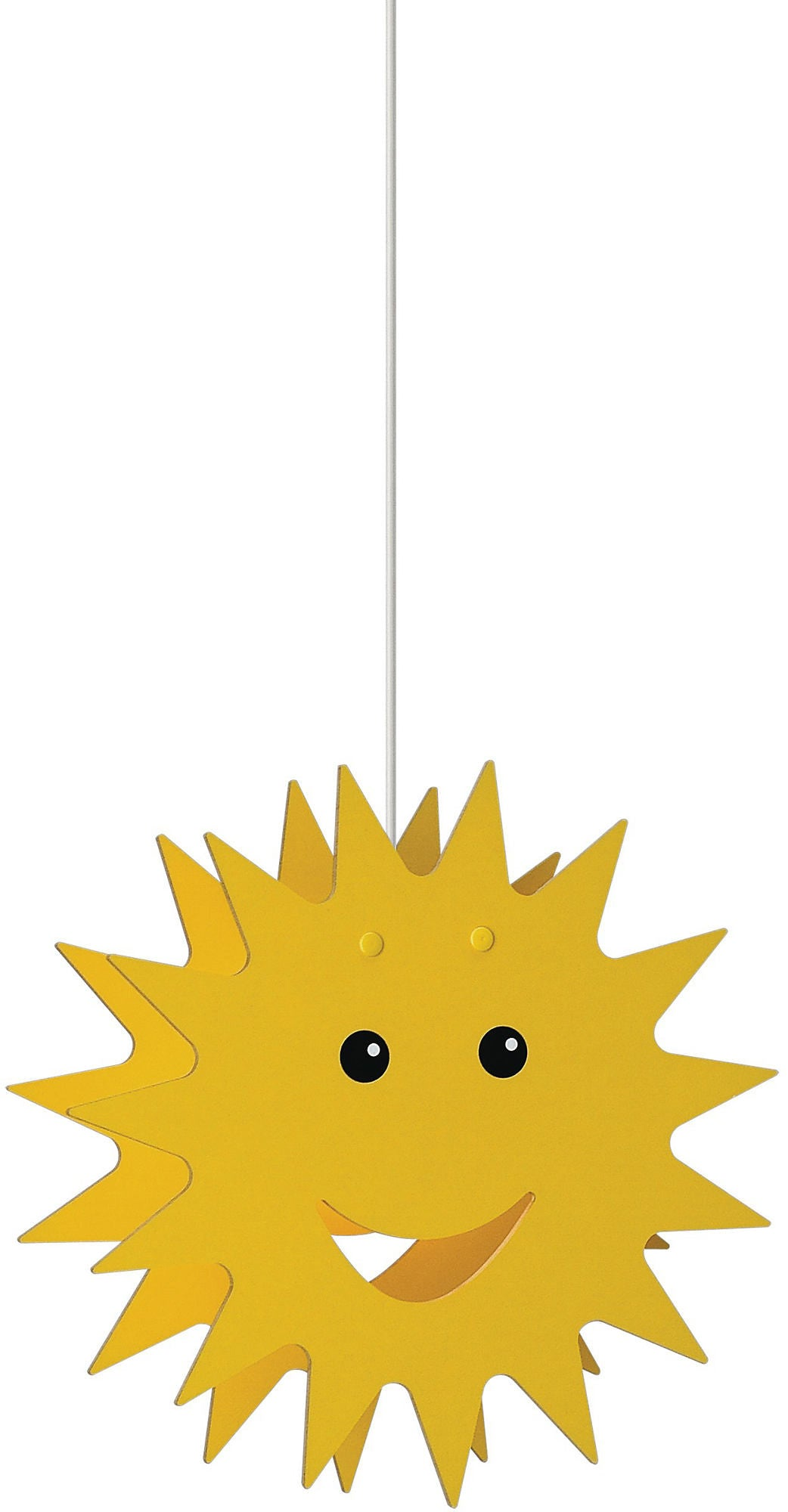 Philips Kidsplace 'Smiley Sun' Suspension Light (Adjustable Height)