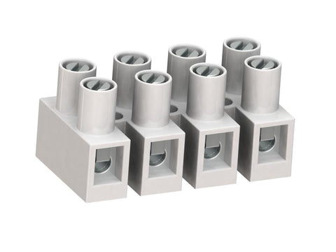 Weco 302/03 3-Pole Europe Type Connectors-Socket Terminal Strips (Qty. 80)