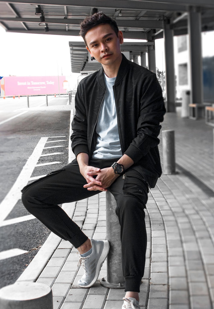 Long Sleeve Jacket with Exclusive Jogger Pants - Exhaust Garment