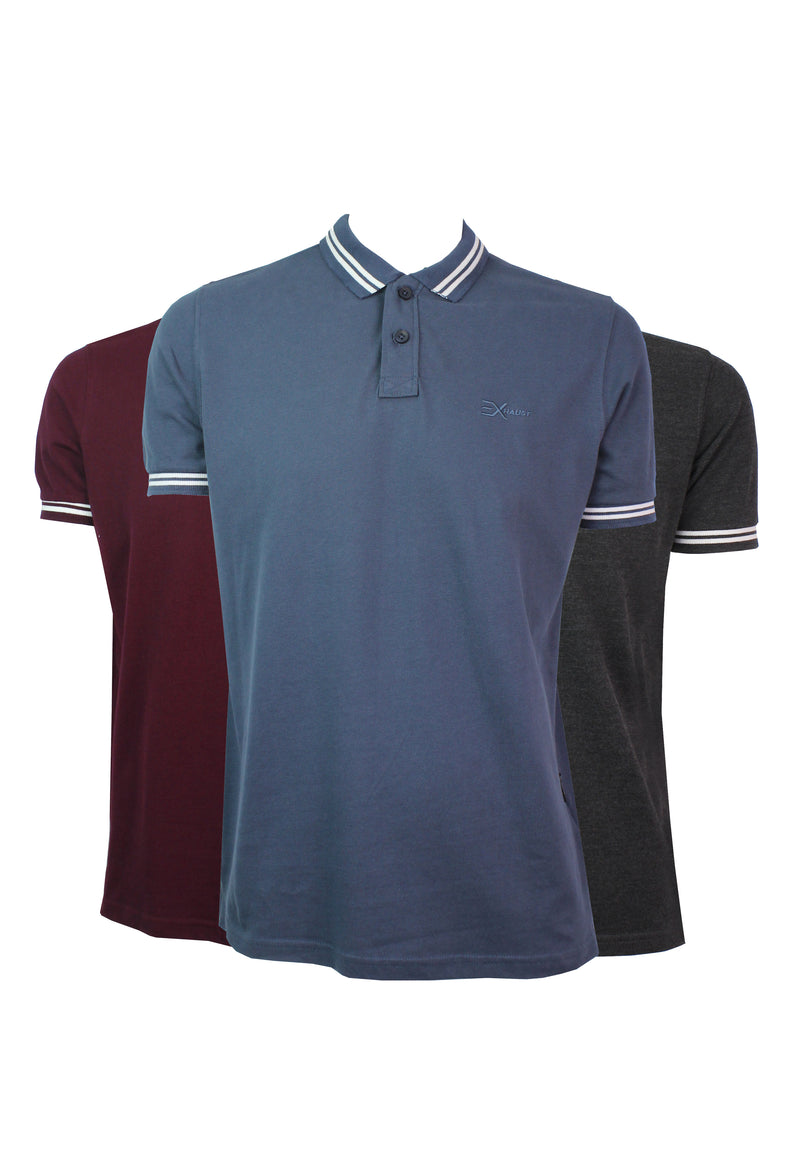 Exhaust Polo Shirt 881 - Exhaust Garment
