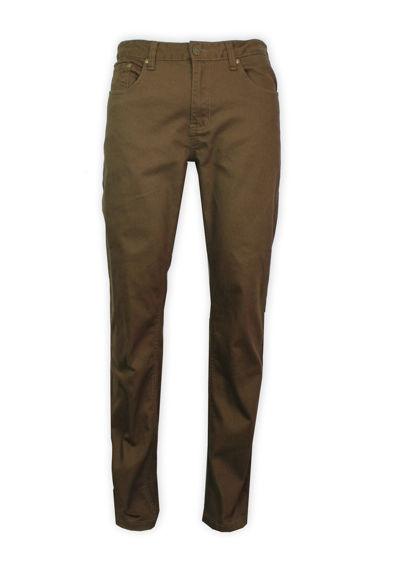 Exhaust Stretch Straight Cut Cotton Pants 984 - Exhaust Garment
