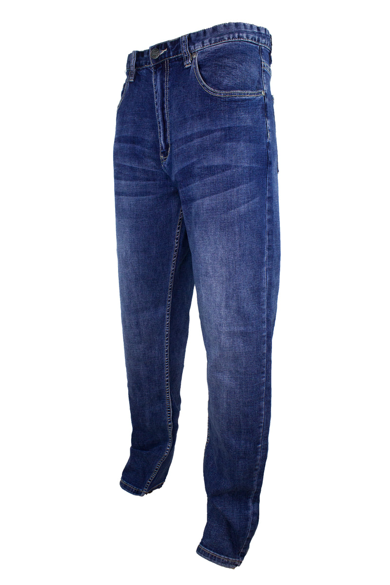 Stretchable Denim Big Size Long Pants Regular Cut 781 - Exhaust Garment