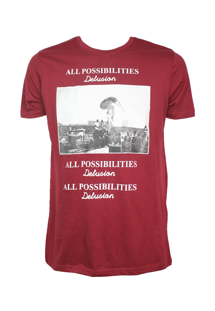 All Possibilities Graphic Print T-shirt 941 - Exhaust Garment