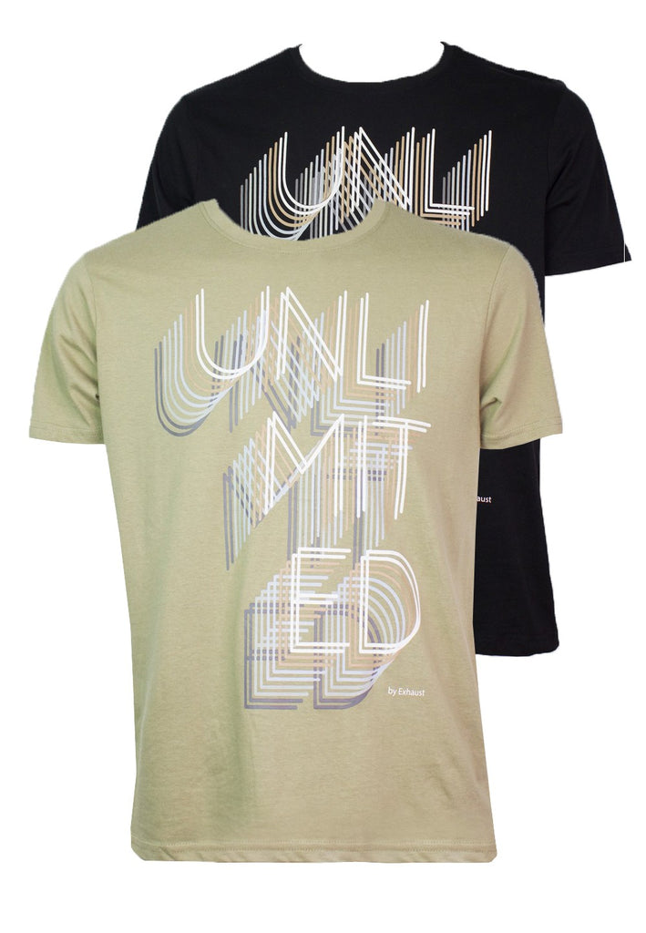 UNLIMITED effect T-shirt 947 - Exhaust Garment
