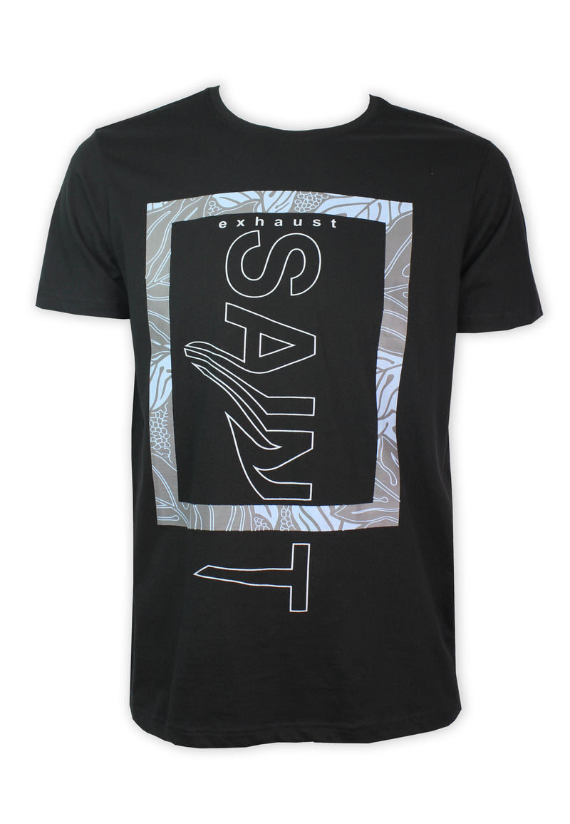 Saint Print T-shirt 950 - Exhaust Garment