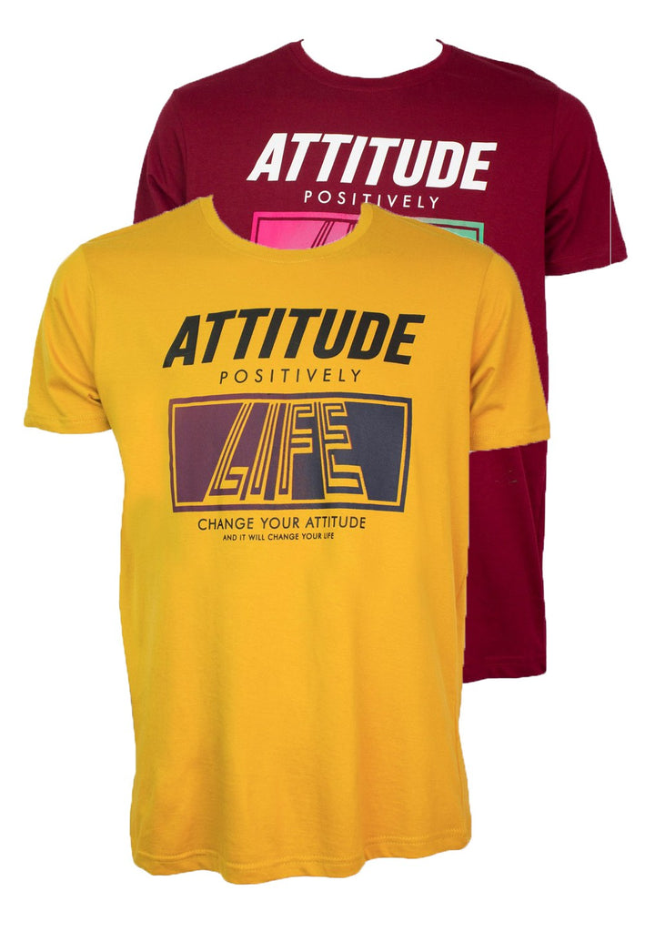 Positive Attitude T-shirt 966 - Exhaust Garment