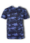 Men Roundneck Short Sleeve T Shirt 872 - Exhaust Garment