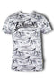 Men Roundneck Short Sleeve T Shirt 873 - Exhaust Garment