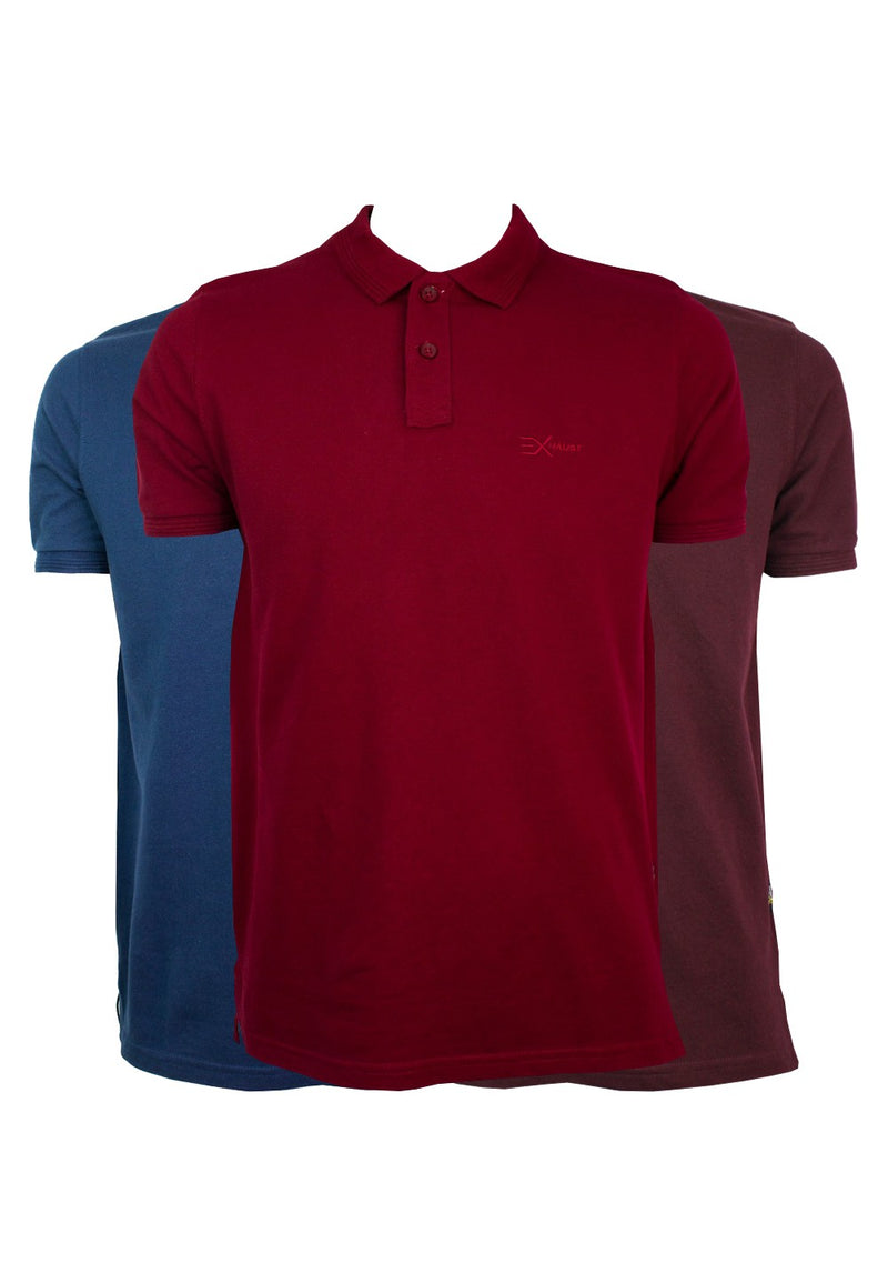 Exhaust Plain Polo Tee 880 - Exhaust Garment