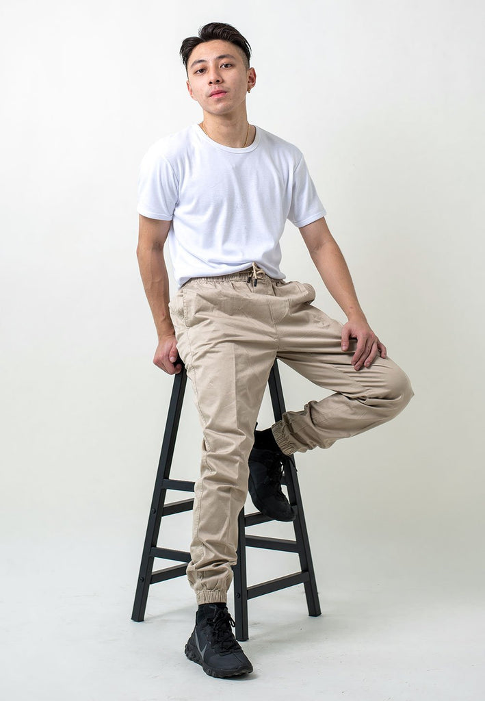 Jogger Long Pants with Elastic 502 - Exhaust Garment