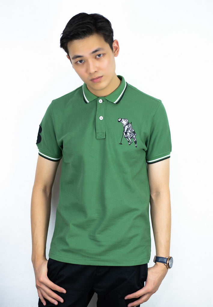 Polo Tee with Polo Embroidery 644 - Exhaust Garment