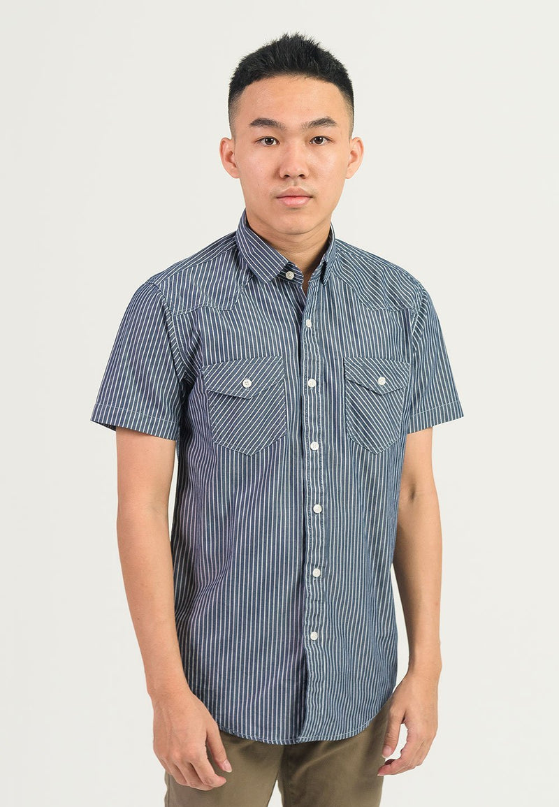 Short Sleeve Casual Shirt 639 - Exhaust Garment