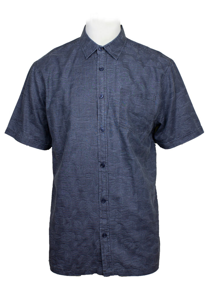 Short Sleeve Shirt with Printing (M-2XL)-815 - Exhaust Garment