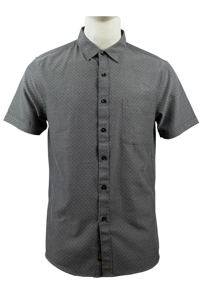 Men's Printed Short Sleeve Shirt 852 - Exhaust Garment
