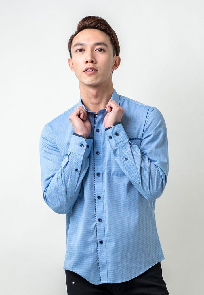 Formal Look Long Sleeve Shirt - Exhaust Garment