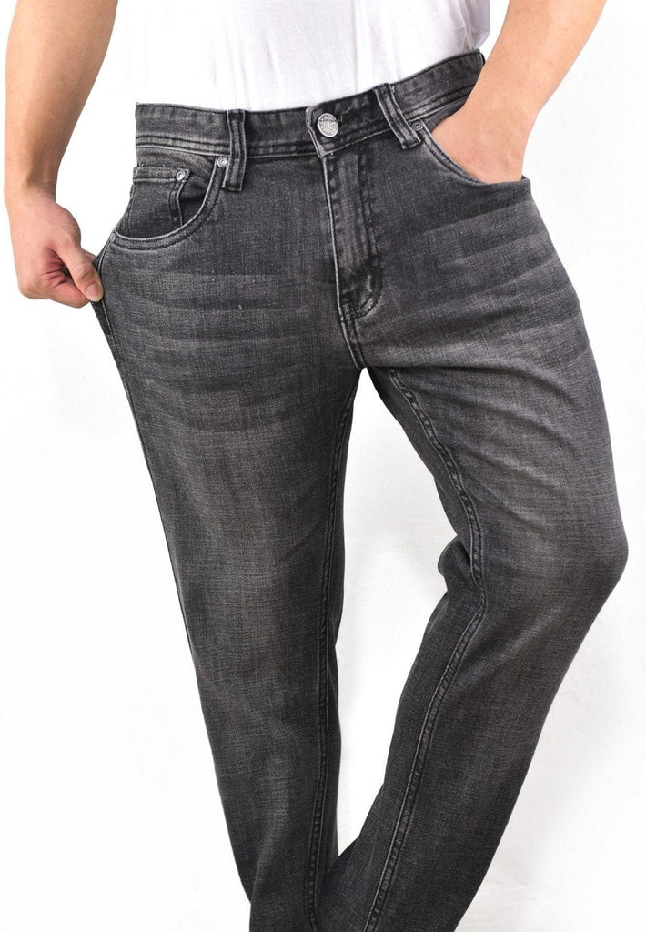 Stretchable Slim Fit Denim Long Pants 683 - Exhaust Garment