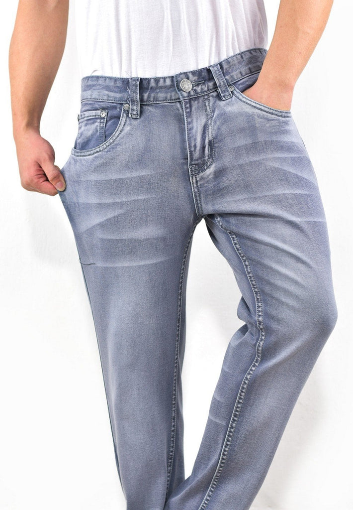 Stretchable Skinny Denim Long Pants 686 - Exhaust Garment