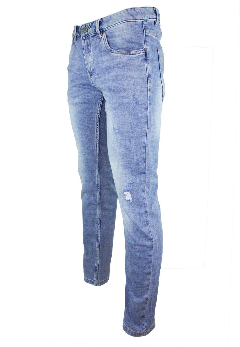Exhaust Stretch Skinny Denim Long Pant 916 - Exhaust Garment