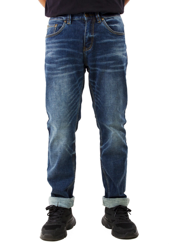 Exhaust Stretchable Denim Long Pants 768 - Exhaust Garment